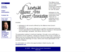 Alliance Area Concert Association